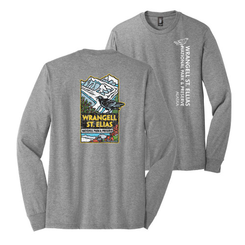 T-Shirt - Wrangell St. Elias - Long-sleeve