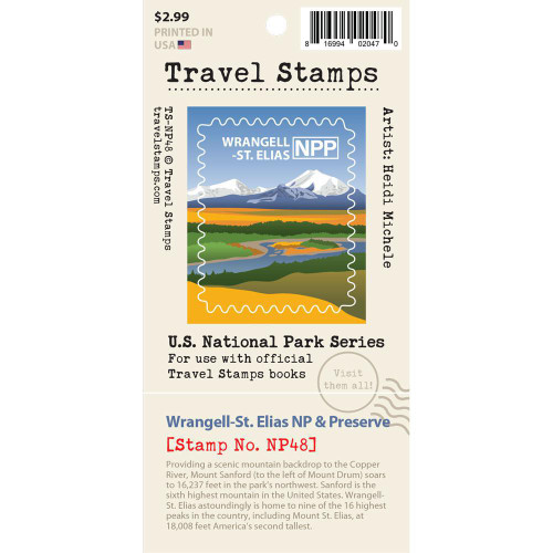 Travel Stamp - Wrangell St. Elias National Park & Preserve