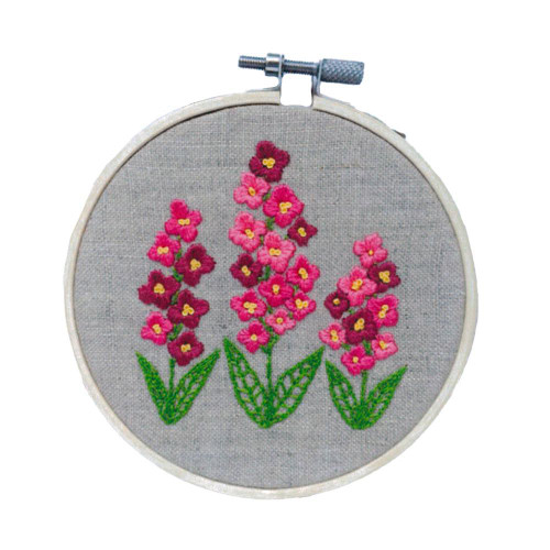 Hand Embroidery Kit - Fireweed