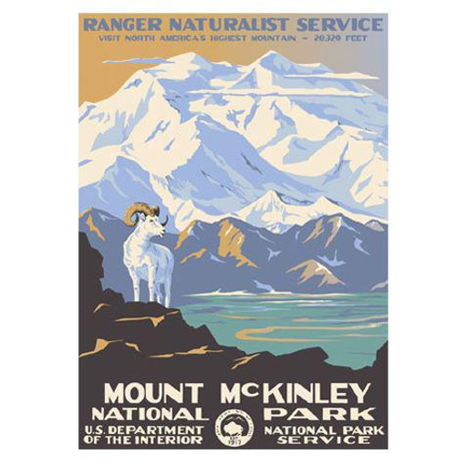Postcard - Ranger Doug - Mount McKinley