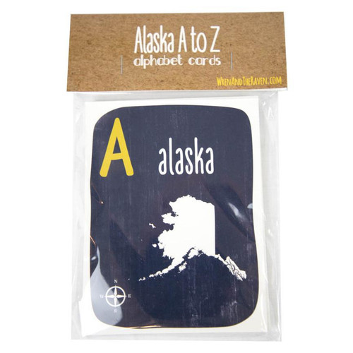 Alaska A to Z Alphabet Cards