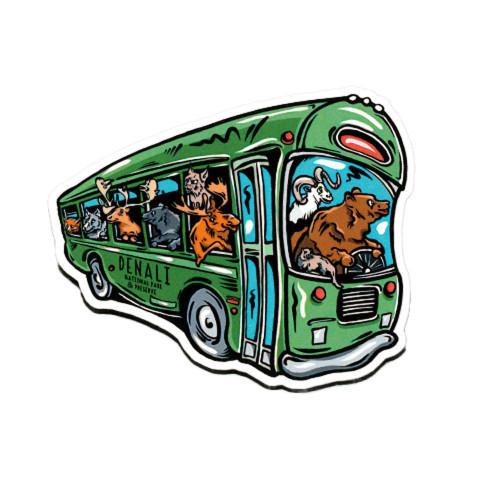 Magnet - Denali Animal Bus