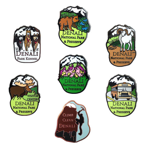 Denali Pin Collection - Elena Vayndorf