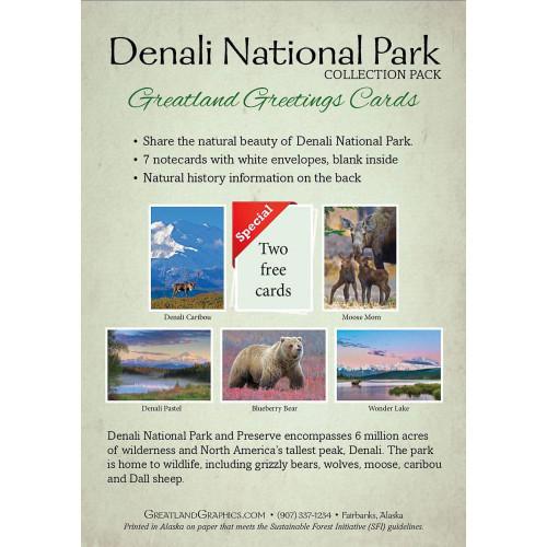 Denali National Park Note Card Pack (7) Greatland Greetings