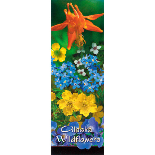 Magnet - Alaska Wild Images - Panoramic Alaska Wildflowers