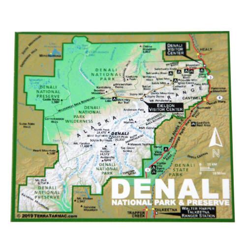 Magnet - Denali Map