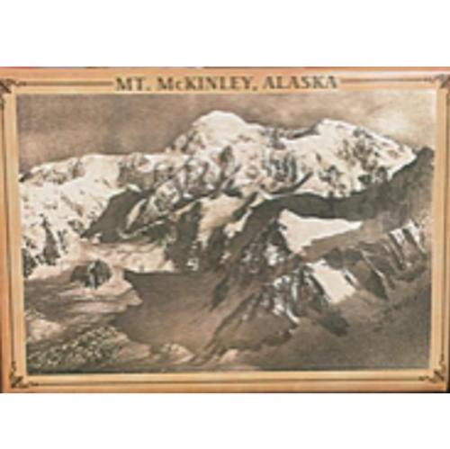 Magnet - 1910 Denali Sepia