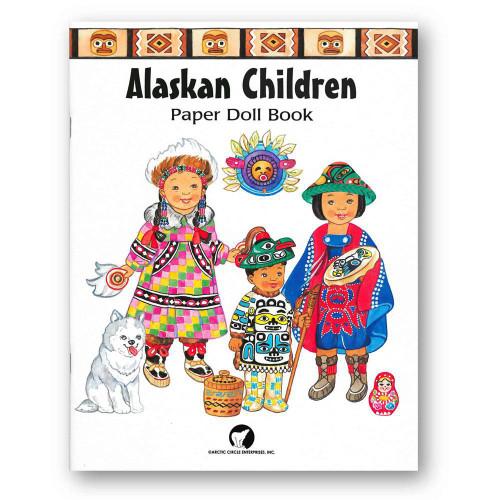 Alaskan Children Paper Doll Book