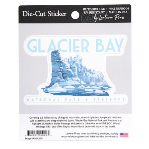 Sticker Die-Cut - Glacier Bay - Glacier