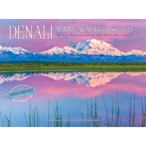 Denali Wildlife & Wilderness Wall Calendar