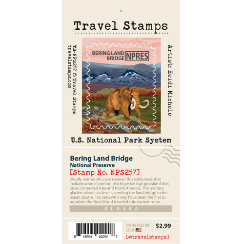 Travel Stamp - Bering Land Bridge National Preserve
