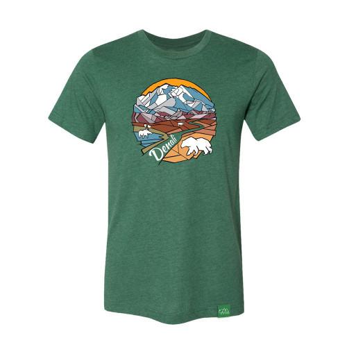 T-Shirt - Denali Geometric