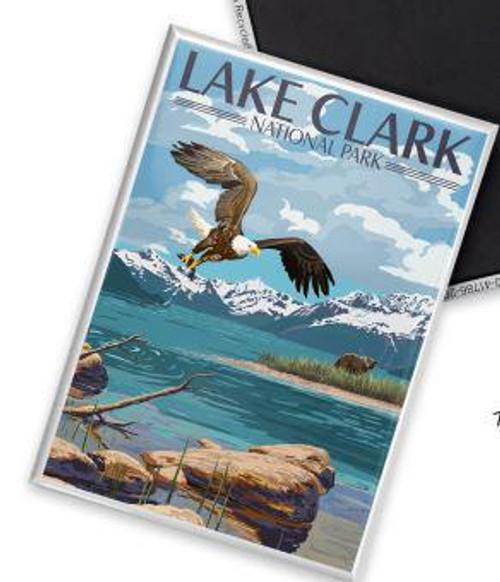 Postcard - Lake Clark - Lantern