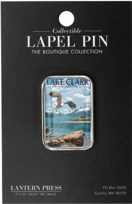 Lapel Pin - Lake Clark - Lantern