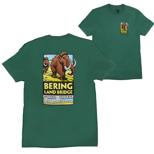 T-shirt - Bering Land Bridge - DA logo