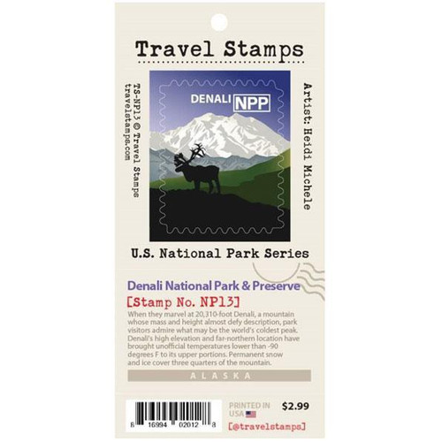 Travel Stamp - Denali National Park & Preserve