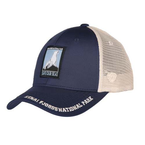 Baseball Hat - Kenai Fjords National Park - Save Our Seas