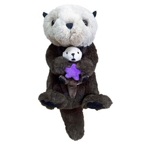 Plush - Sea Otter with pup