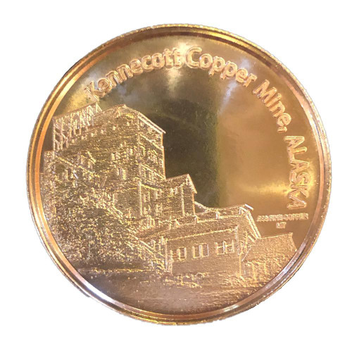 Kennecott Copper Coin