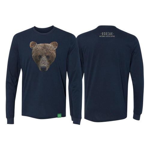 T-Shirt - Kodiak Word Bear - Long Sleeve