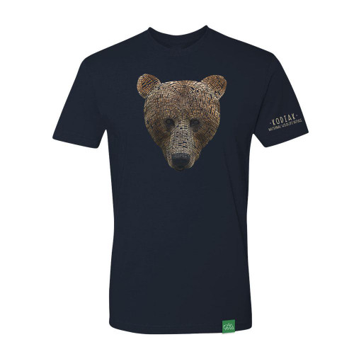 T-Shirt Kodiak - Word Bear - Short Sleeve