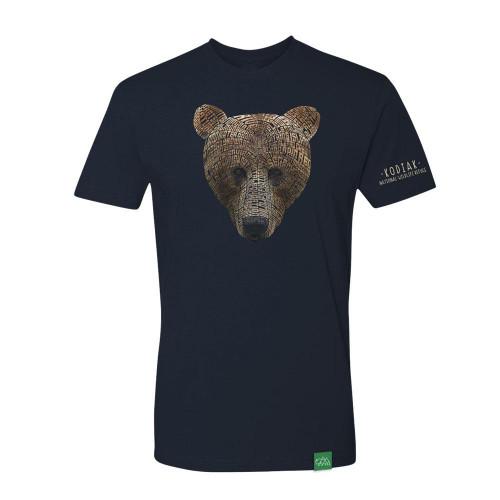 T-Shirt Kodiak - Word Bear - Short Sleeve