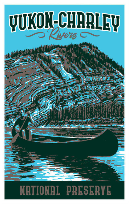 Postcard - Yukon Charley Rivers