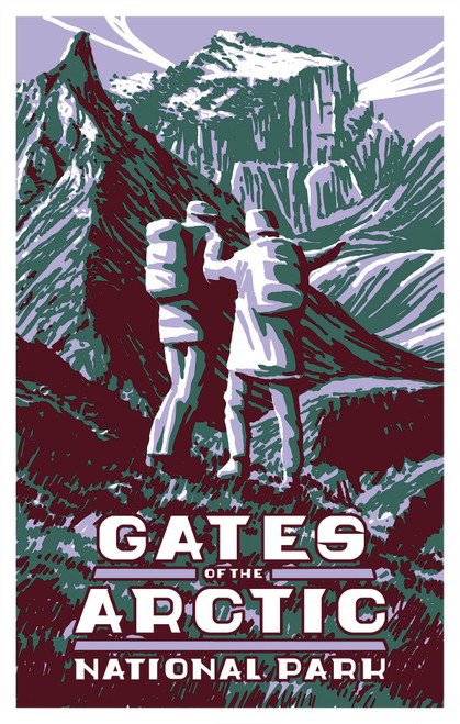 Postcard - Gates of the Arctic