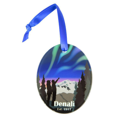 Ornament - Denali Northern Lights