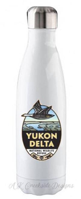 Stainless Steel Water Bottle - Yukon Delta