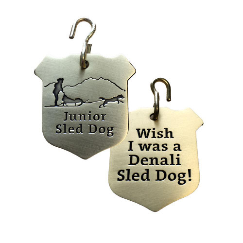 Junior Sled Dog Collar Tag