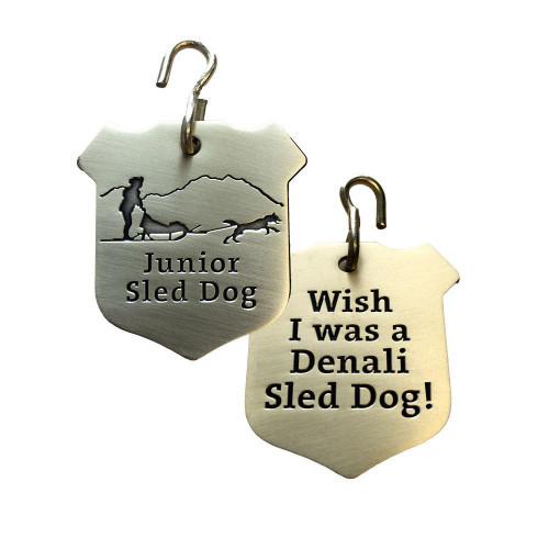 Junior Sled Dog Collar Tag