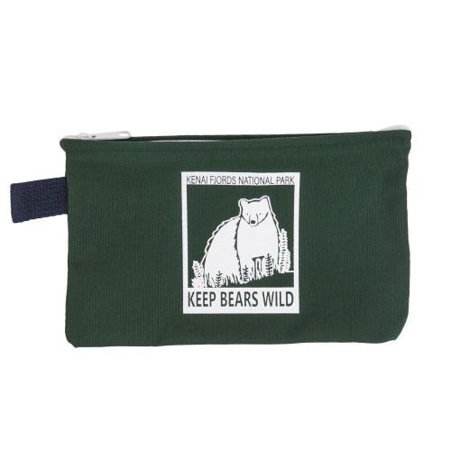 Keep Bears Wild Canvas Pouch