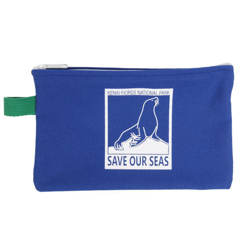 Save our Seas Canvas Pouch