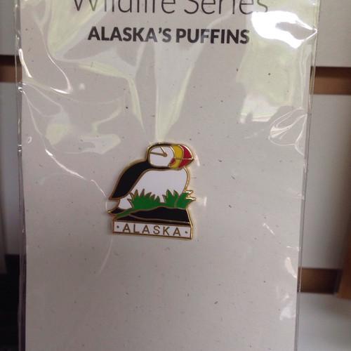 Pin - Alaska's Puffins