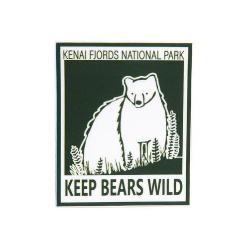 Keep Bears Wild Sticker