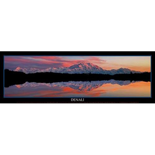 Poster - Denali Sensational Sunset by Jimmy Tohill