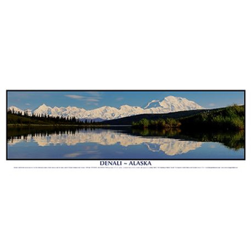 Poster - Wonder Lake Reflection by Jimmy Tohill