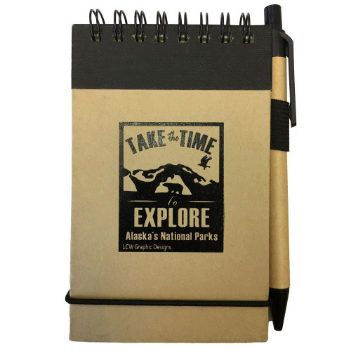 Jotter Notepad - Take the Time to Explore Alaska's National Parks