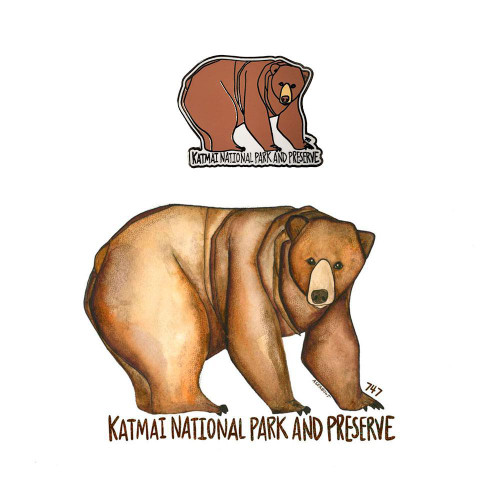 Pin & Sticker Set - Fat 747 - Katmai