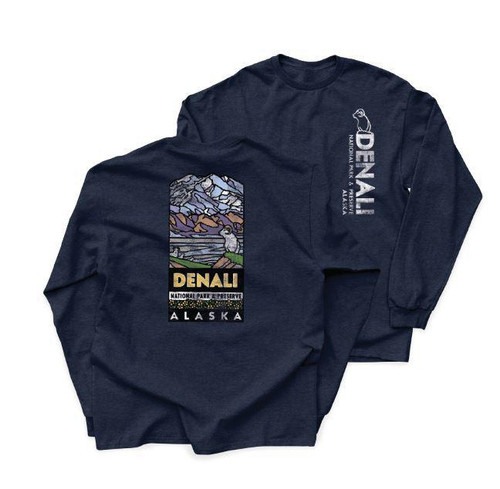 T-Shirt - Long Sleeve Denali Logo