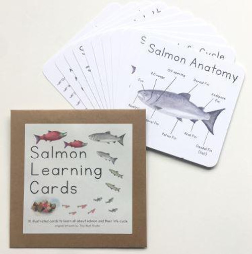 Salmon Life Cycle Learning Cards