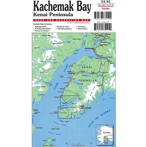 Map - Kachemak Bay Kenai Peninsula Road & Recreation