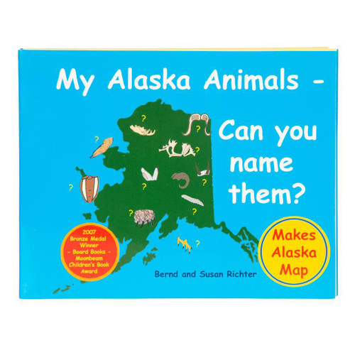 My Alaska Animals - Can You Name Them? (Board/Folding Book)