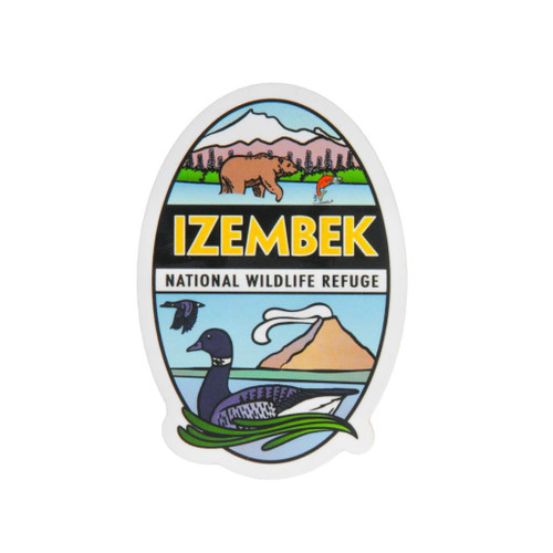 Sticker - Izembek National Wildlife Refuge