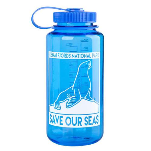 Nalgene Bottle - Kenai Fjords - Save Our Seas