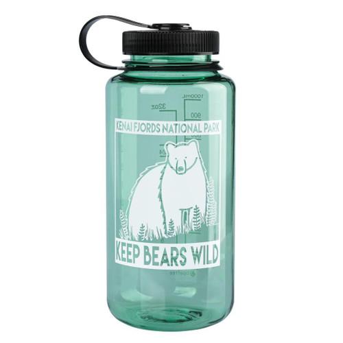 Nalgene Bottle - Kenai Fjords - Keep Bears Wild