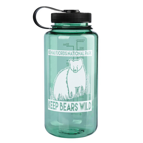 Nalgene Bottle - Kenai Fjords - Keep Bears Wild