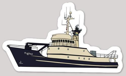 Sticker - Tiglax Research Vessel
