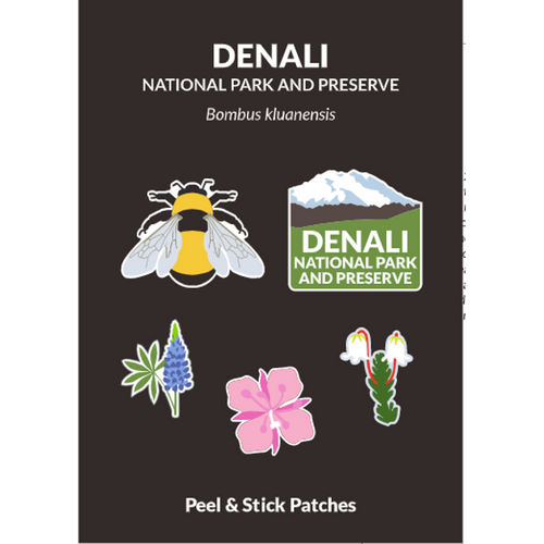 Peel and Stick Patch Set - Denali's Bee
